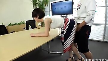 Dirty Japanese game show with perfect tits Fujie Shino having sex