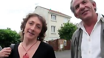 French swingers threesome