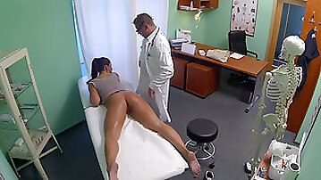 36-year-old woman Valentina Ross whoring for doctor