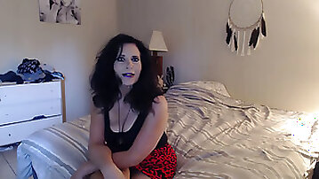 Mommy MAKES stepson her fart victim before she heads out on date POV amatuer