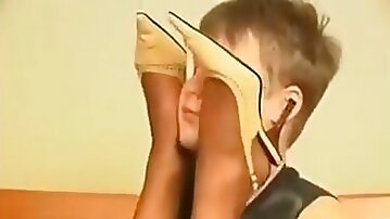 Juicy Pantyhose Gal Hungry Makeout