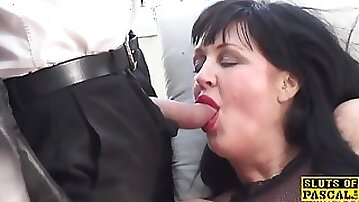 Heavy-breasted bdsm brit dominated and made to squirt