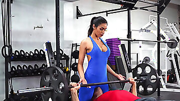 Fit beauty Katana Kombat workout ends with banging