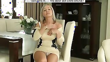Hot Cougar solo teasing