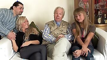 Nesti Shy and Sveta have always enjoyed the touch of an older man