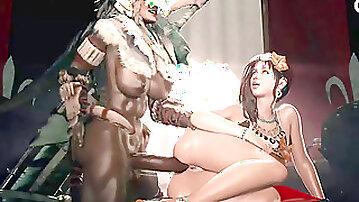 Futanari-Moster Hunter World-hottest hermaphroditism forceps, by generalbutch