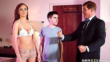 Married cheater Tina fucks a younger guy behind her hubbys back