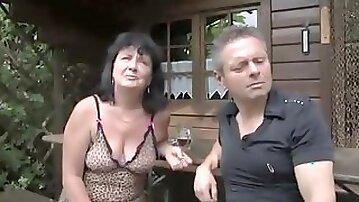 Exotic Brunette, Shaved sex scene