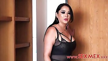 Bodacious dark-haired with thick orbs, Pamela Rios is having ass fucking romp with one of her paramours