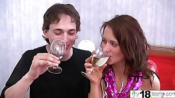 Hot Teen Sucking and Romantic Sex - Secret Fuck Amateur