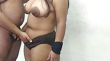 Indian Newl merried wifey screwing with former bf in her home