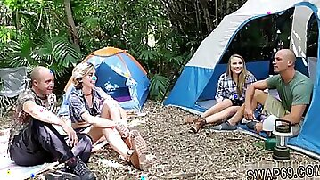 Dad teen friends stepdaughter sleeping Backwoods Bartering