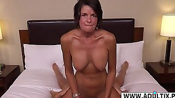 Perfect Mother In Law Tessa Rides Mammoth Prick