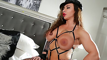 Virgin Candy - Muscle stunner and transsexual Fuck 61