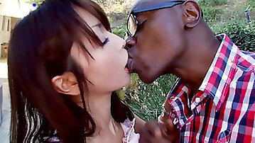 Japanese girl Marica Hase first time taking bbc