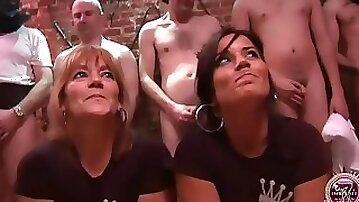 Delia rosa and jazmina vulcan, real spanish mother and daughter bukake