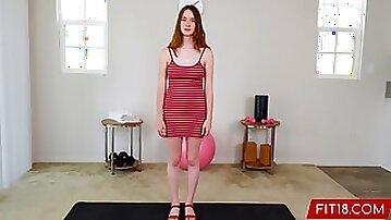 Fit18 - Hazel Moore - 54kg - Casting All Natural Teen Born On Y2K