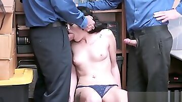 Blonde cop ass and police officer mother companions daughte