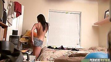 Hidden Camera in College Dorm