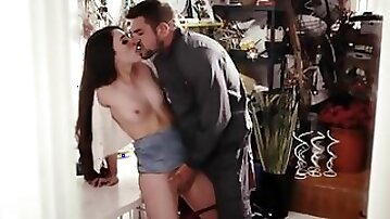 Lonely Cougar Orgasm with a Stranger