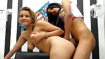 Hot tranny and a girl takes a fucking Action