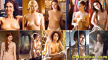 Celebrity cougar Tits Jiggling and bouncing Hypnotic