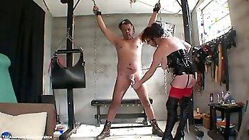 Balls & Cock Torture Pt1 - TacAmateurs