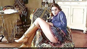 Nastassja Kinski & Ania Pieroni revealing Their Nude stellar figures