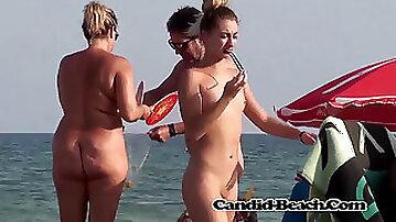 Nude Beach spycam Candid Spy HD nudist Ladies