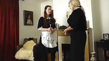 MarianneApologetic maid gets punished pt2