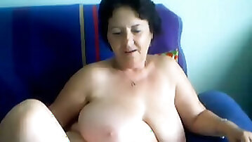 Homemade solo clip with me giving a private webcam show