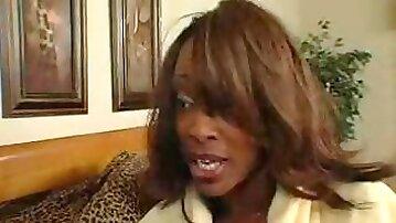 Black mature women tests her daughters boyfriend