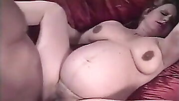Pregnant milf fucked by old men