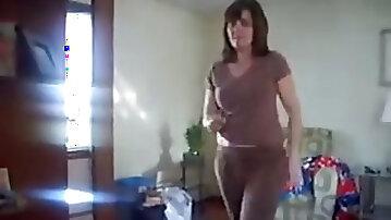 Watch my maths teacher dancing in front of a camera
