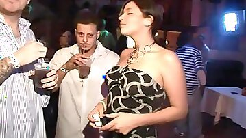 Hot party scene with very naughty ladies