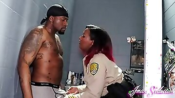 Correctional Officer vs Inmate - Black Hardcore