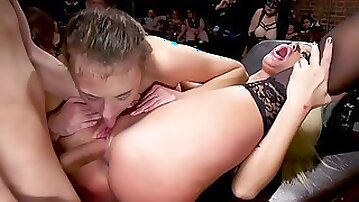 London And Gia Are Butt Fuck Slaves For Aiden starr - group sex domination