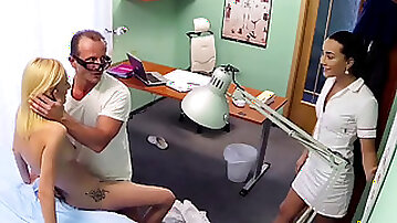 Threesome hospital sex