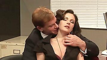 Office Seductions kissing