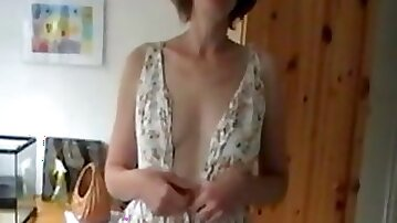 Shy Girl strips and plays