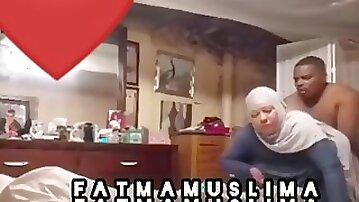 Muslim woman fucking at home