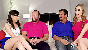 Diana Grace and Judy Jolies daughter swapping orgy