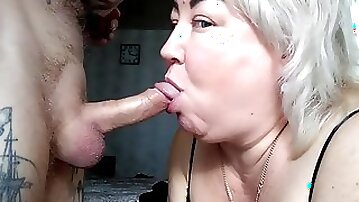 Mother-in-law Likes To Swallow A Cock Up To The Balls