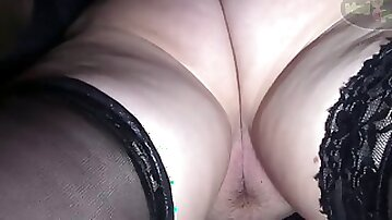 Thick legs in stockings Home made porn
