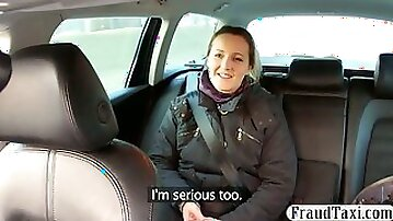 Divorced babe anal try out with a driver for a free cab fare