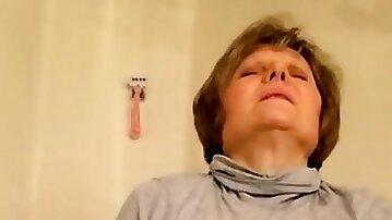 Grandma masturbates and cums like no other by MarieRocks